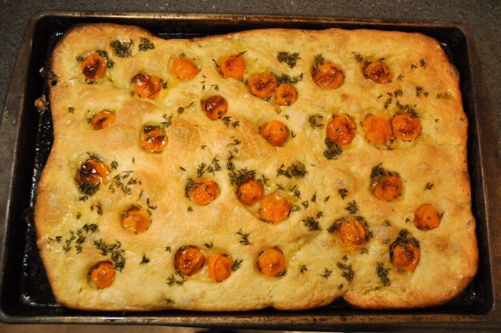 finished focaccia