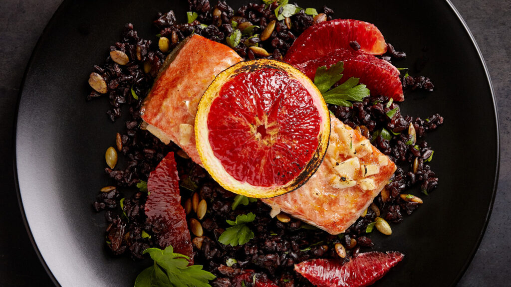 blood_orange_salmon_with_black_rice
