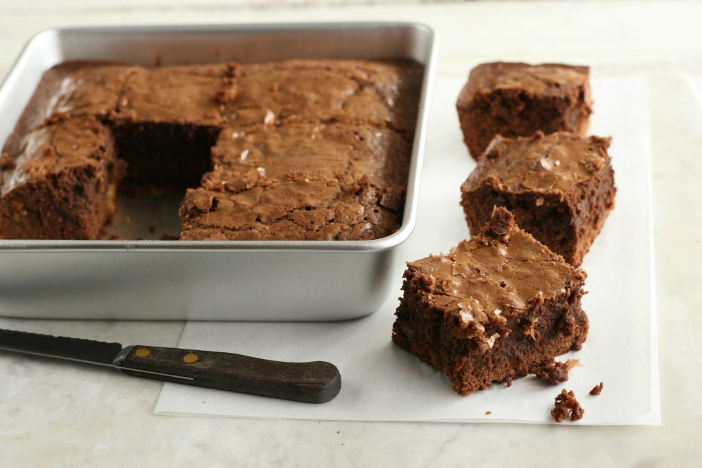 Chewy fudge brownies4
