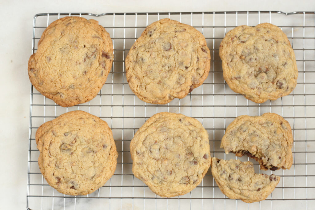 Perfected Chocolate chip cookies recipe
