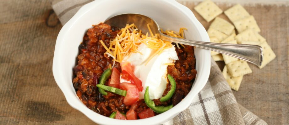 Thick and Hearty Homestyle Chili