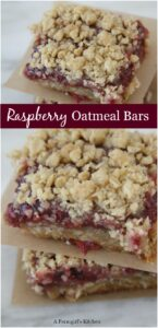 raspberry bars stacked on each other