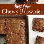 brownies in square baking pan