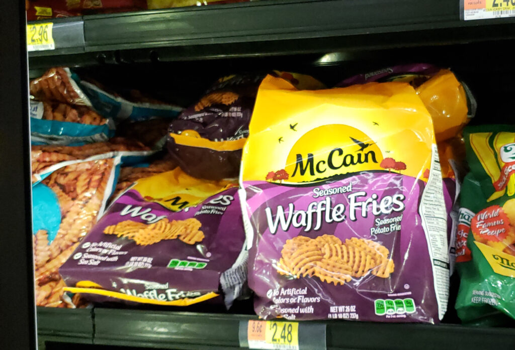 McCain French fries at Walmart