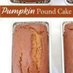loaf cake in loaf pans cooling