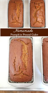 pumpkin loaf cake in loaf pans cooling