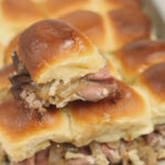 beef sliders with caramelized onions